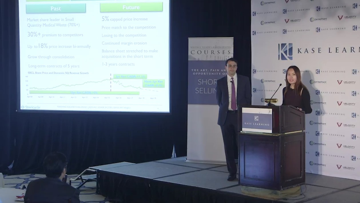 Asher Jacobs & Jade Hu On Stericycle Inc (SRCL)