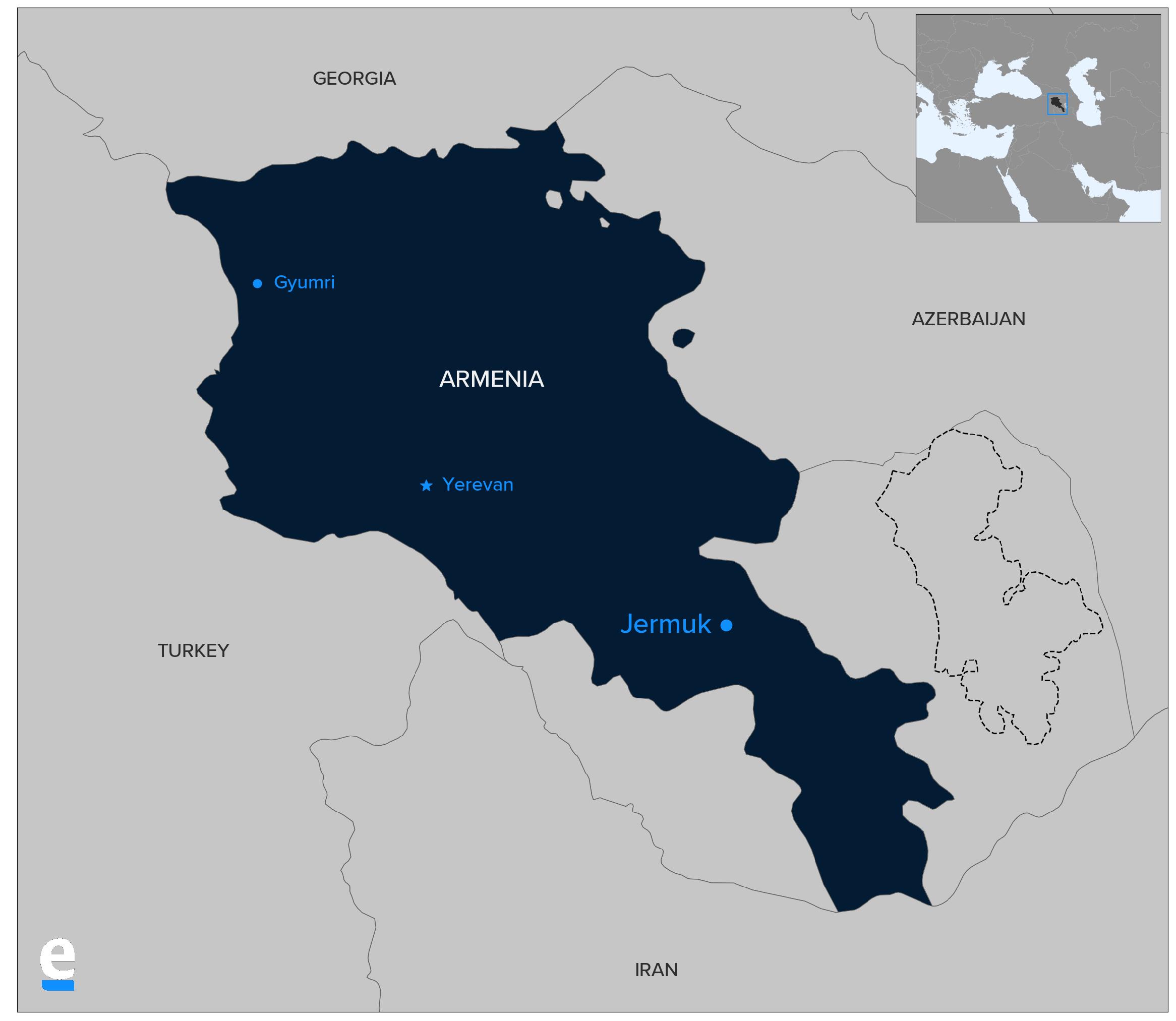 Armenia Mining Dispute
