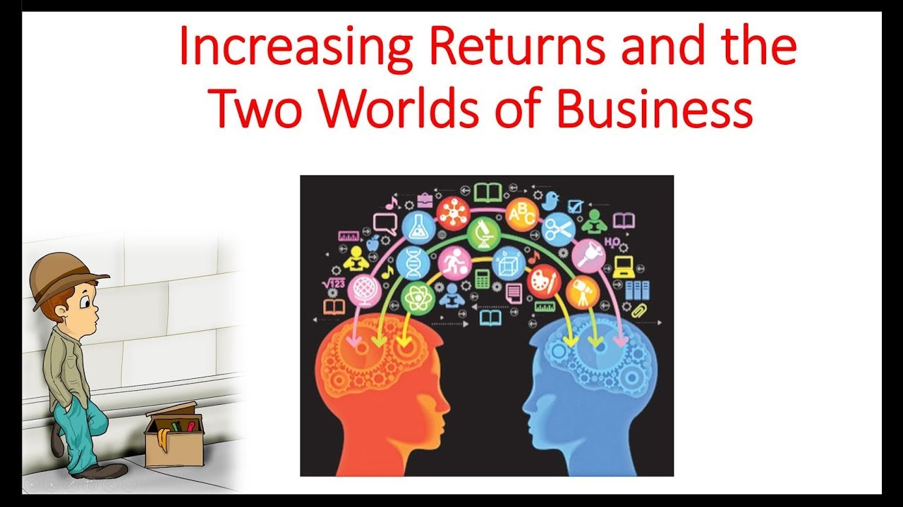 Increasing Returns And The Two Worlds Of Business