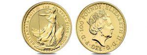 2019 Great Britain 1 oz Gold Britannia Coin .9999 Fine BU