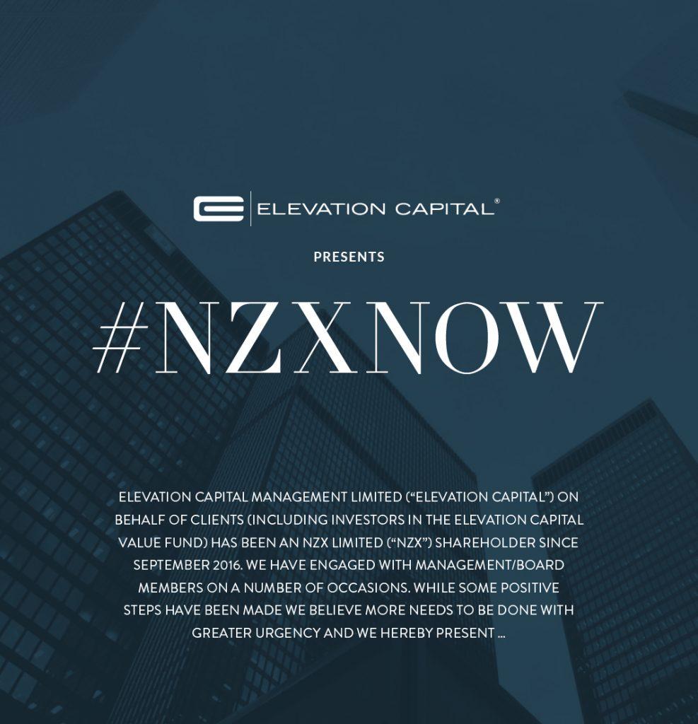 Elevation Capital NZNOW