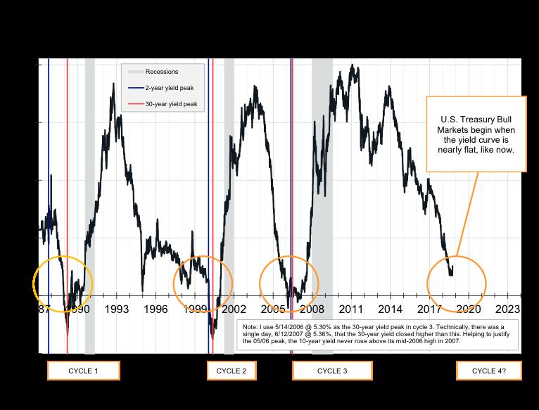 U.S. Treasury Bull Market